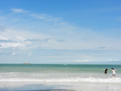 ビンタン島のビーチ