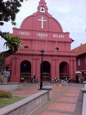 シンガポールから一番近い世界遺産マラッカ