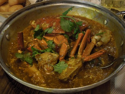 シンガポール名物料理 チリクラブ