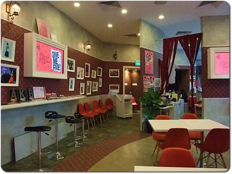 改装前のカフェ