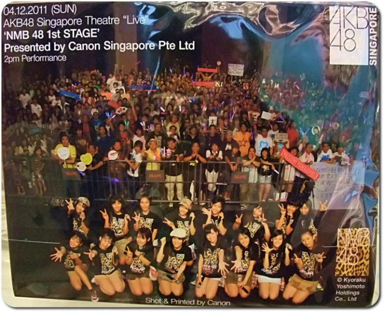 NMB48 シンガポール公演