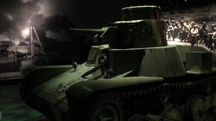 旧日本軍戦車