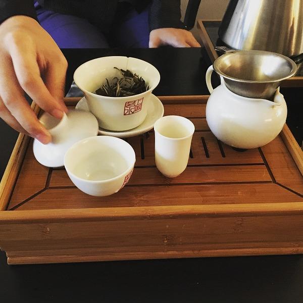 1杯目のお茶